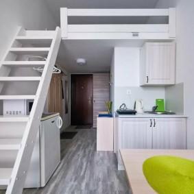 Малогабаритная кухня в квартире небольшого размера