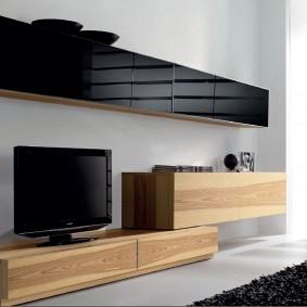 Лаконичная мебель в гостиной современного стиля