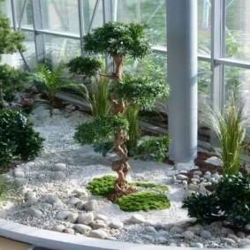 Японский сад камней в домашних условиях