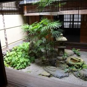 Миниатюрный садик в домашних условиях