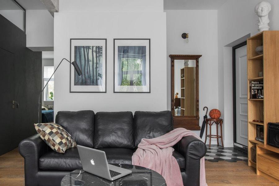 Керамическая плитка во входной зоне в квартире