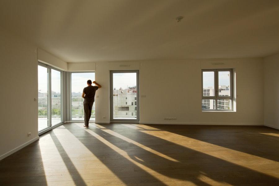 Фото пустой квартиры свободной планировки