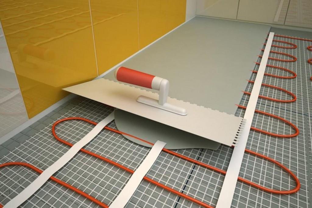 Устройство стяжки теплого электрического пола на лоджии