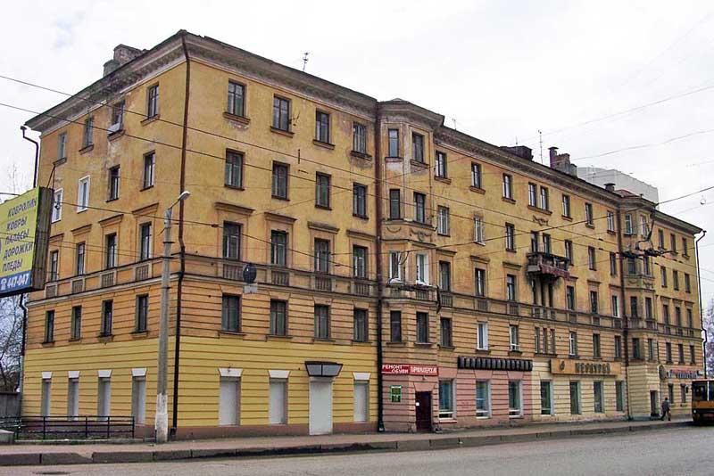 Фото фасада сталинки послевоенной постройки