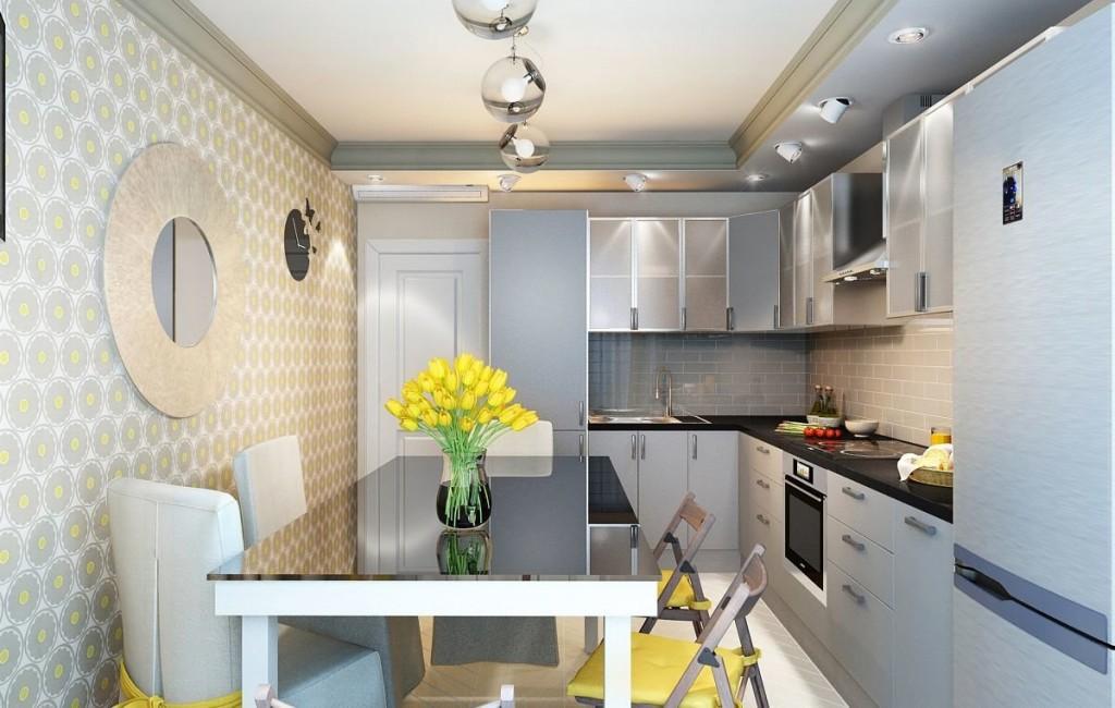 Дизайн уютной кухни в современном стиле