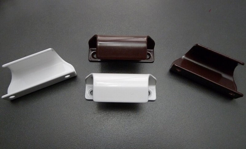 Металлические ручки-лепестки для балконных дверей