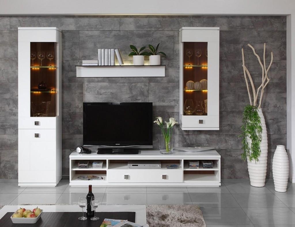 Мебельная стенка со шкафами для посуды
