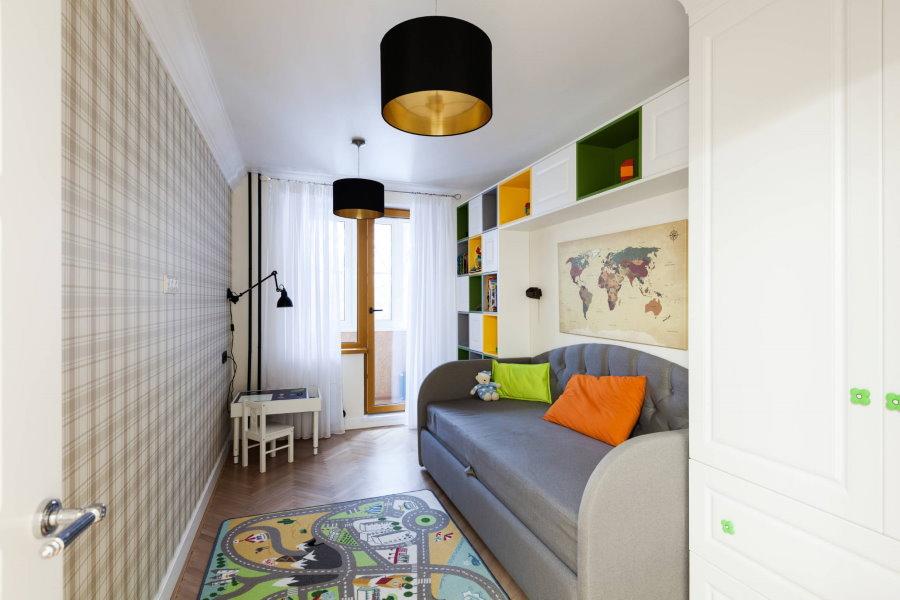 Оформление интерьера не большой комнаты в хрущевке