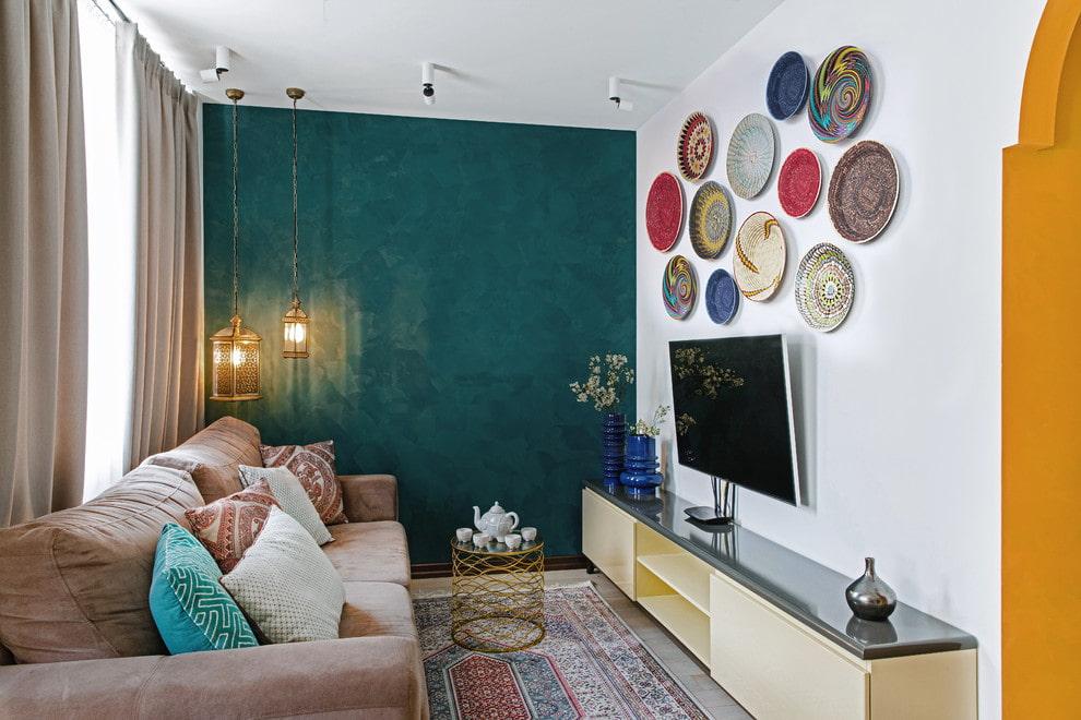 Выбор диагонали телевизора для маленькой гостиной