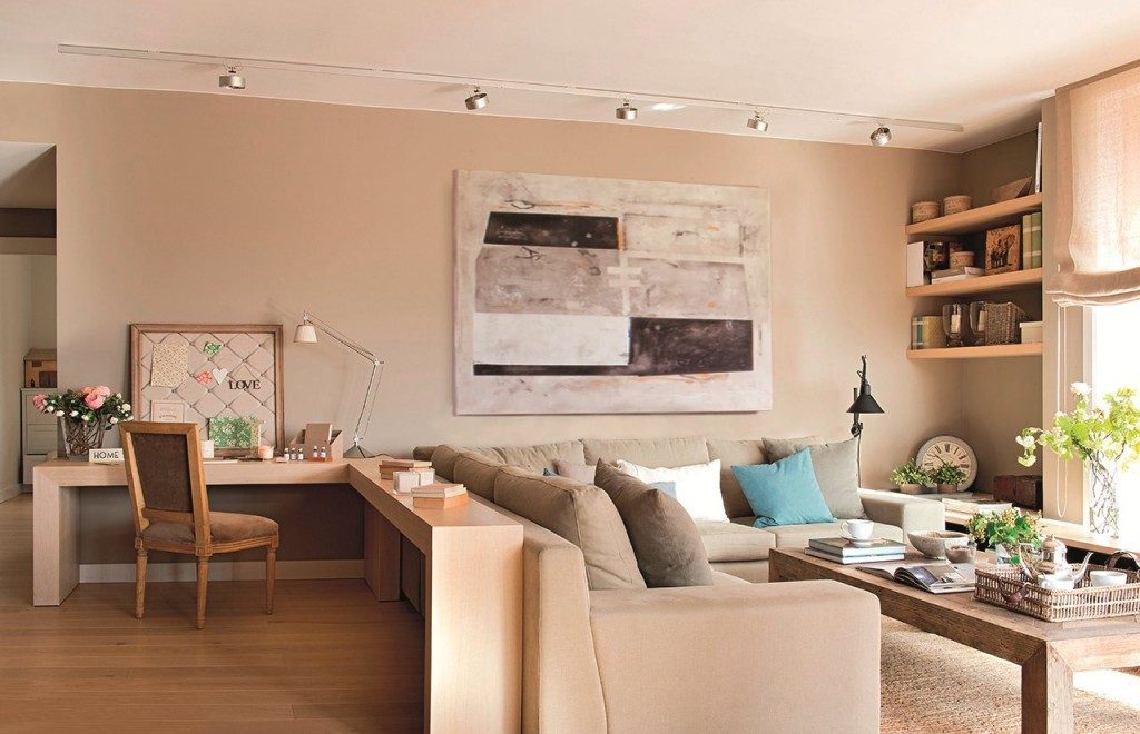 Дизайн гостиной комнаты с удобной планировкой
