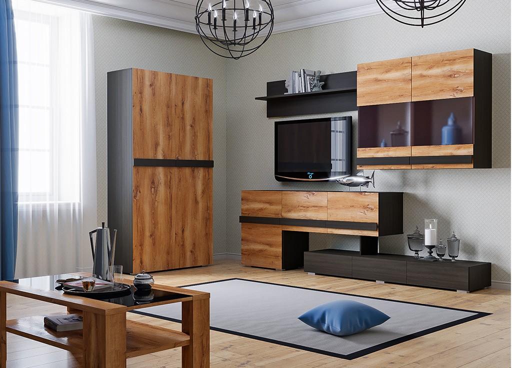 Угловая мебель в интерьере современной гостиной
