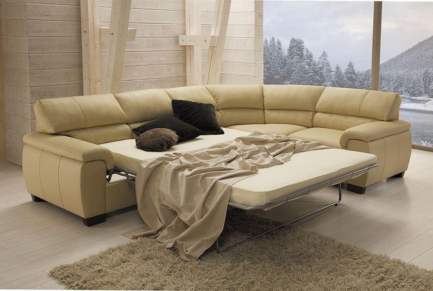 Двуспальный угловой диван угловой формы