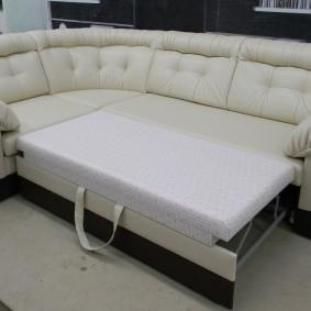 Удобный механизм раскладывания дивана