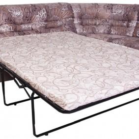 Спальное место в диване современной конструкции