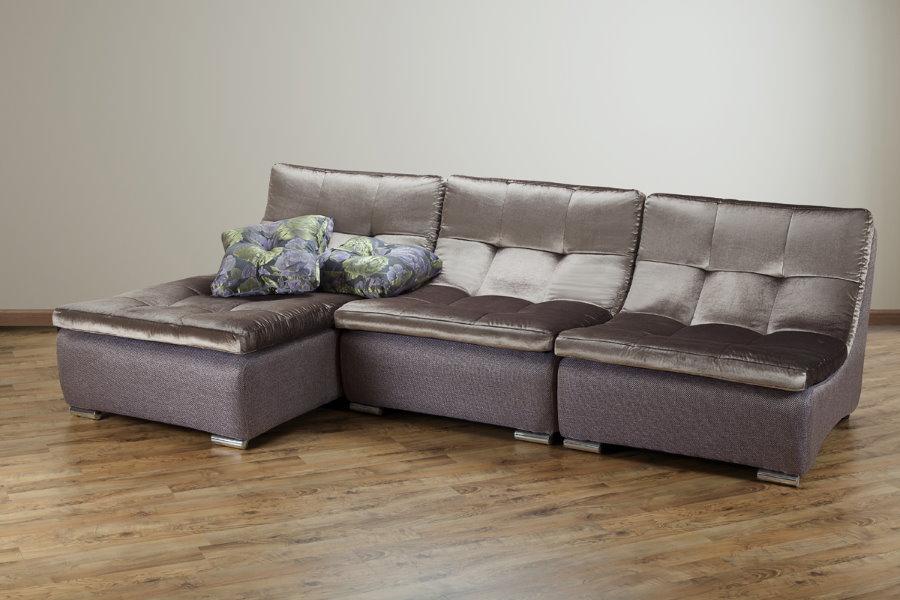 Фото углового дивана модульной конструкции