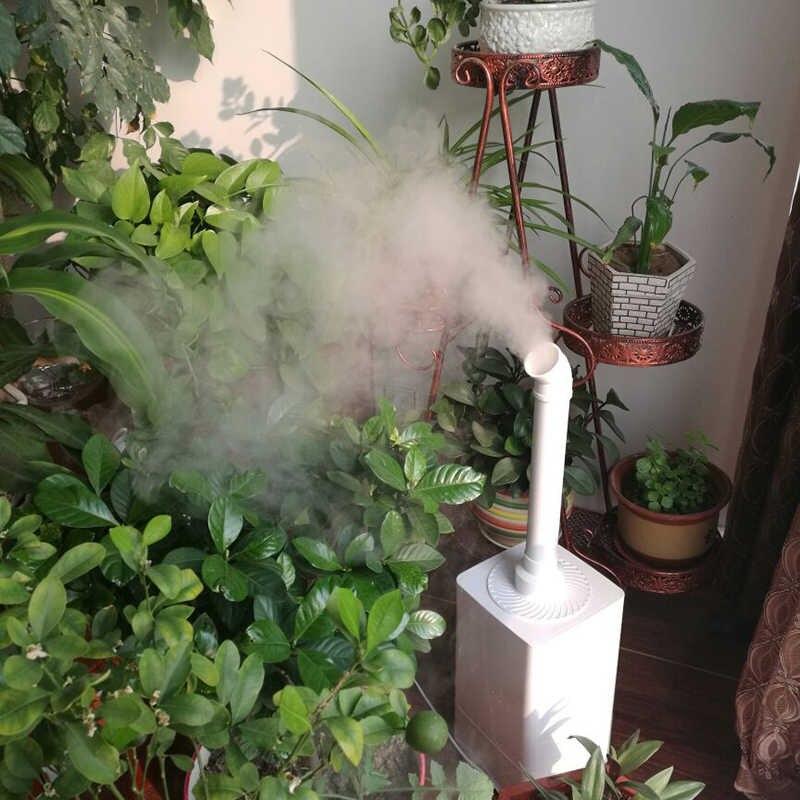 Компактный увлажнитель воздуха в зимнем саду на даче