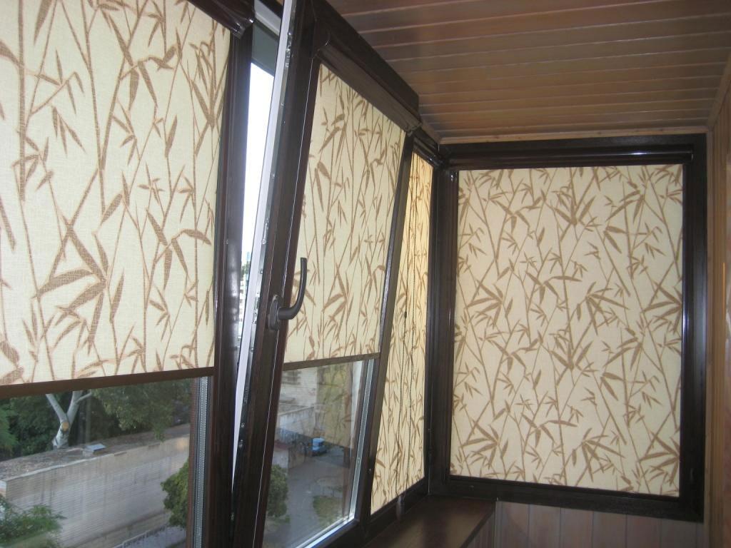 Рулонные шторы с ненавязчивым рисунком