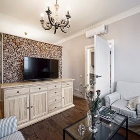 Дизайн небольшой квартиры в стиле неоклассика