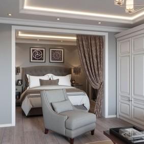 Оформление квартиры в неоклассическом стиле