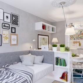 Уютная квартир для молодой семьи