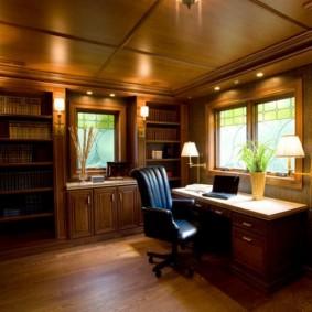 Уютный кабинет для плодотворной работы