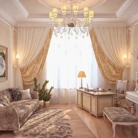 Дизайн домашнего кабинета в светлых тонах