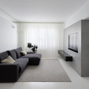 Гостиная комната в стиле минмализма