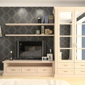 Простая мебель из недорого материала