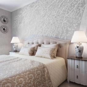 Освещение спальни небольшой площади