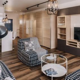 Современная мебель для квартиры-студии
