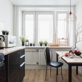 Оформление кухни в нордическом стиле