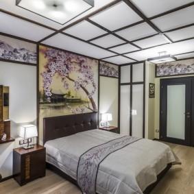 Отделка спальни в восточном стиле