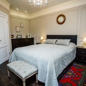 Планировка спальни нестандартной формы