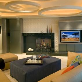 Оригинальный дизайн потолочного покрытия