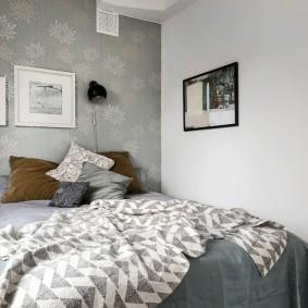 Уютная спальня небольшой площади