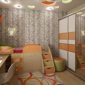 Меблировка комнаты для маленького ребенка