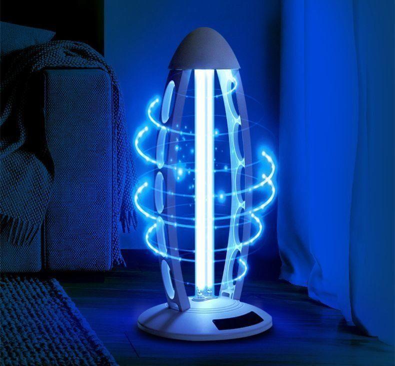 Бытовой светильник с бактерицидной лампой