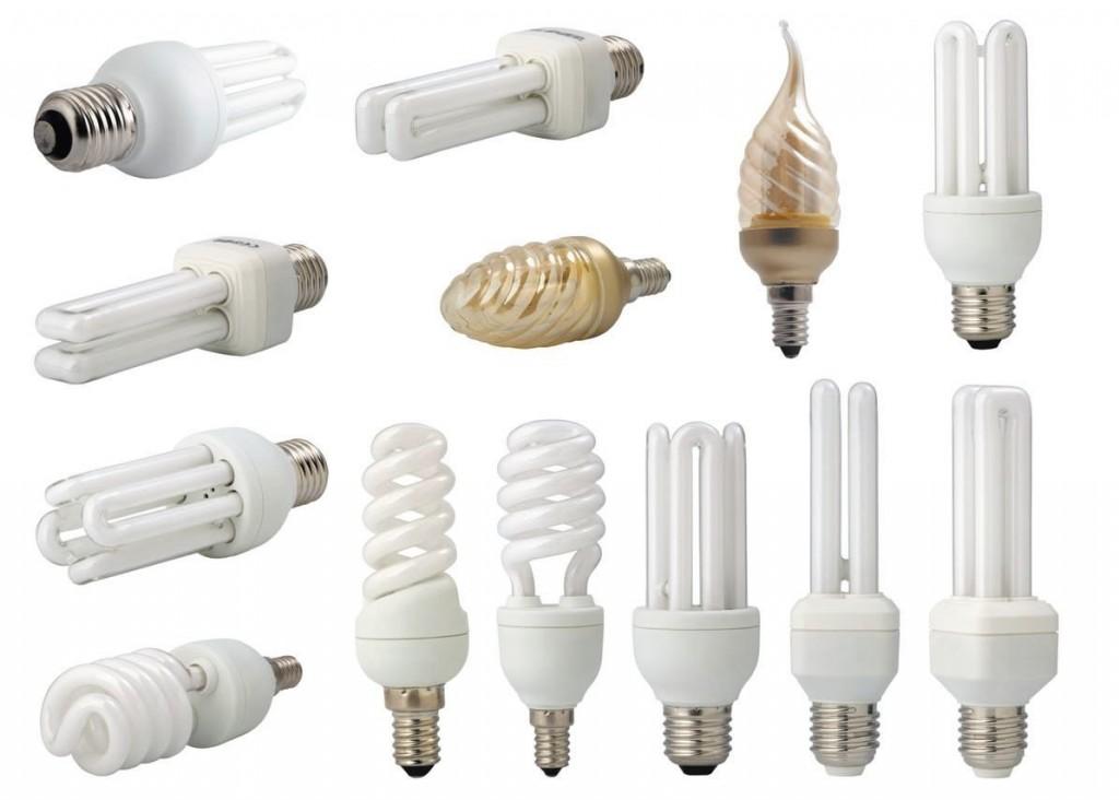 Энергосберегающие лампочки различной мощности