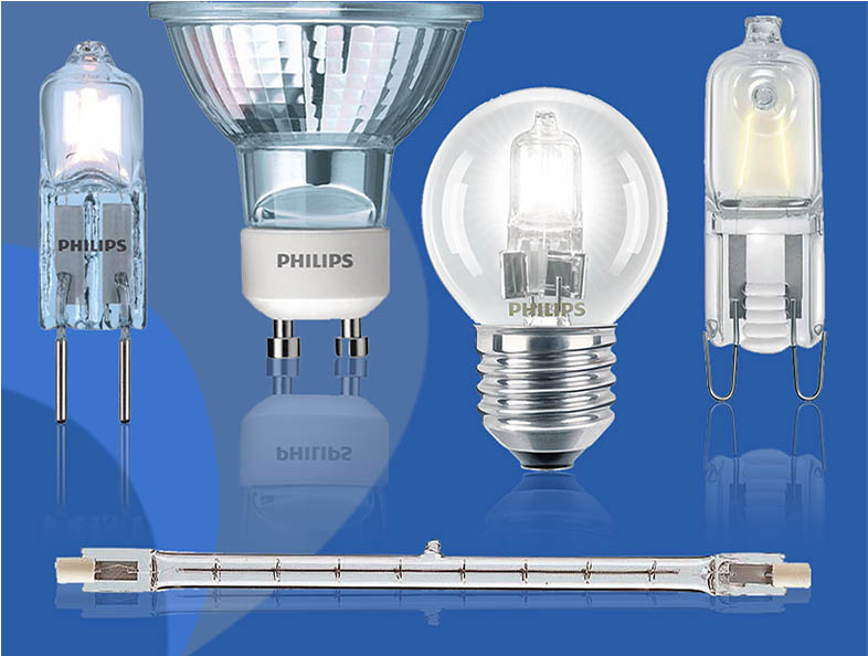 Разновидности галогенных ламп в квартиру
