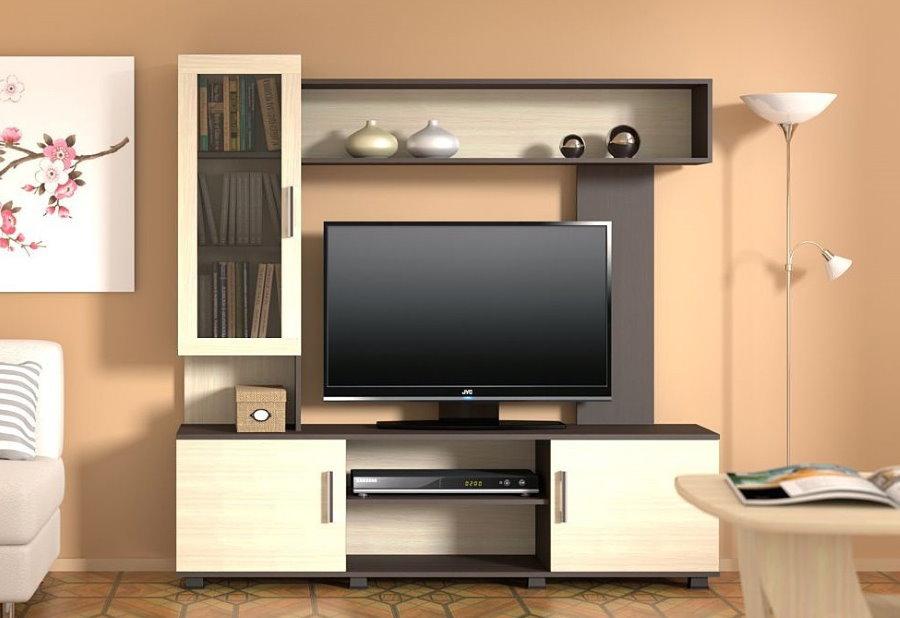 Мини-стенка с тумбой для телевизора