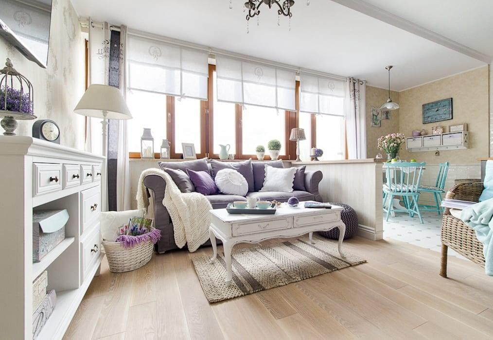 Интерьер квартиры-студии в стиле прованс