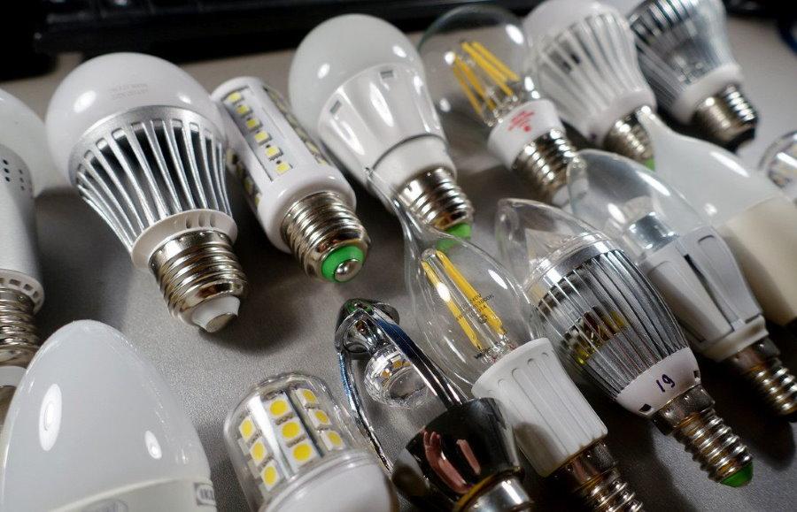 Разные лампочки для освещения квартиры