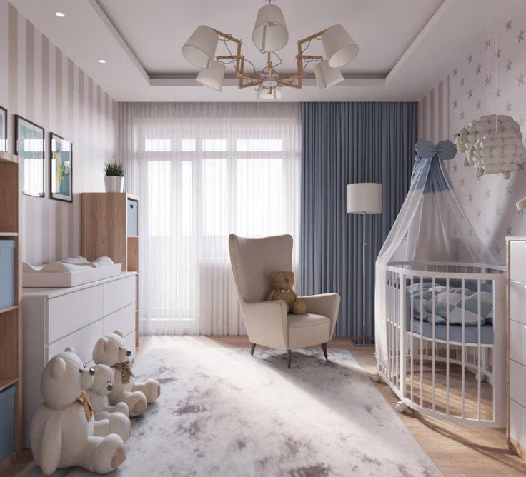 Меблировка детской спальни для новорожденного