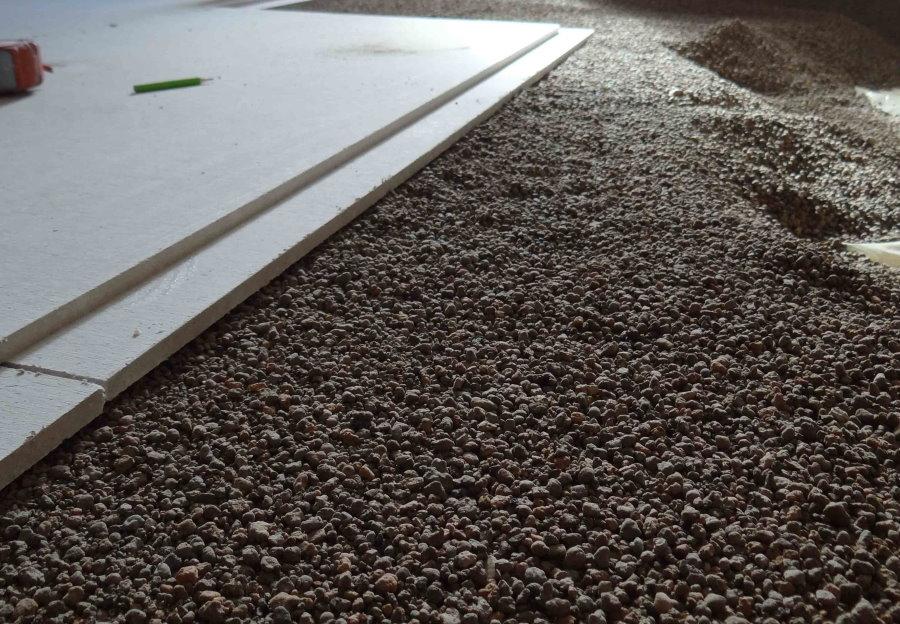 Устройство сухой стяжки на полу в квартире