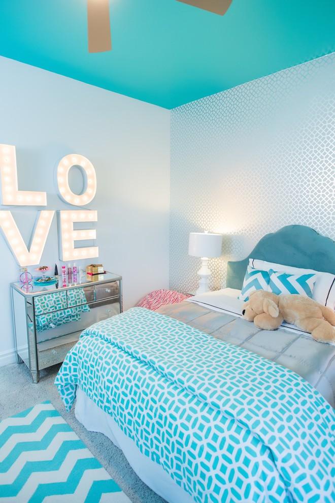 спальня подростка декор