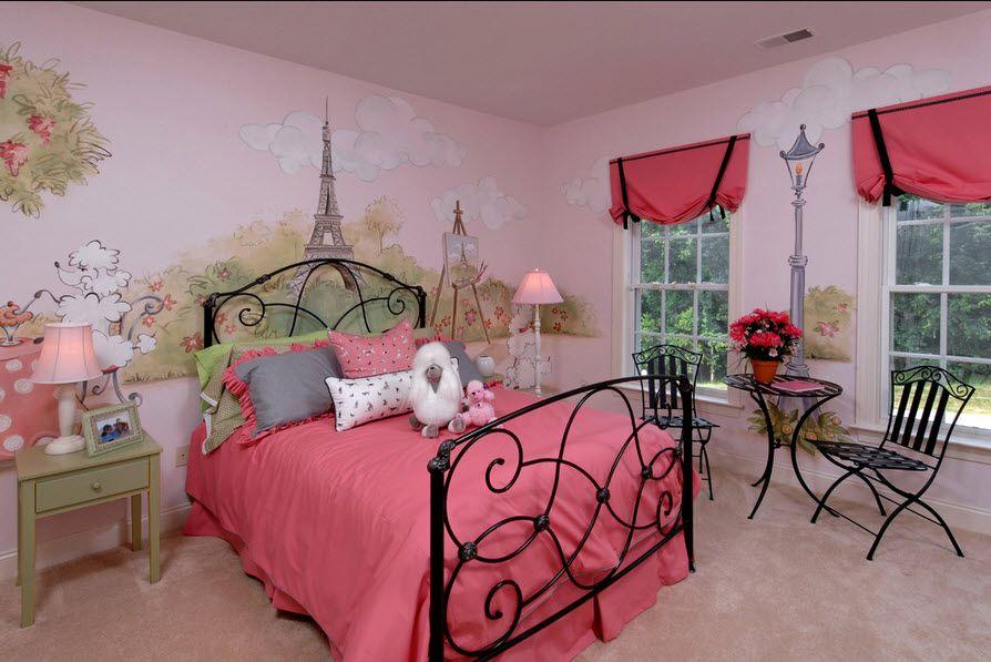 декор комнаты девочки