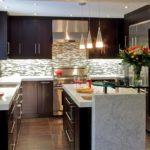 дизайн большой кухни в квартире