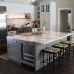 дизайн большой кухни идеи фото