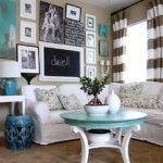 оформление и декор гостиной дизайн