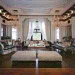 оформление и декор гостиной фото вариантов